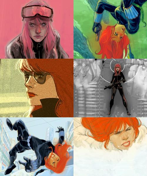 Natasha Romanoff Marvel Comics Fan Art 37401280 Fanpop