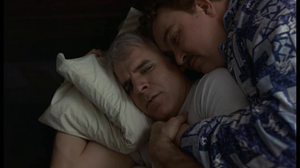 Del & Neal waking up in a very awkward position.