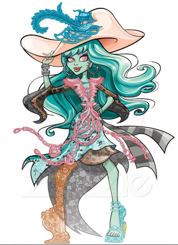 Monster High karatasi la kupamba ukuta possibly with anime called New Artwork Haunted