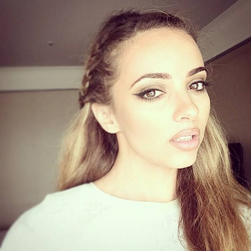 Little Mix fond d'écran with a portrait entitled New Jade selfie ⭐
