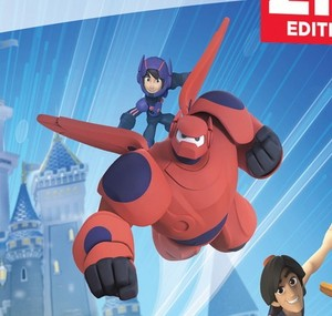 New look at Hiro and Baymax in Disney Infinity 2.0