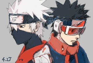 Obito Uchiha and Kakashi Hatake