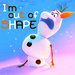 Olaf 'I'm Out of Shape' Icon