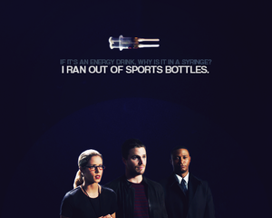 Oliver, Felicity and Diggle