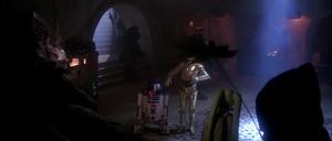 Oola on Jabba's Dais