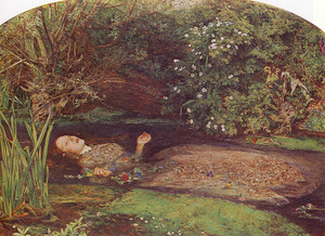 Ophelia Von John Everett Millais (1852)
