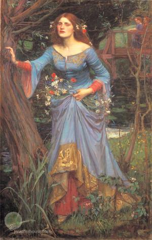 Ophelia Von John William Waterhouse, 1894