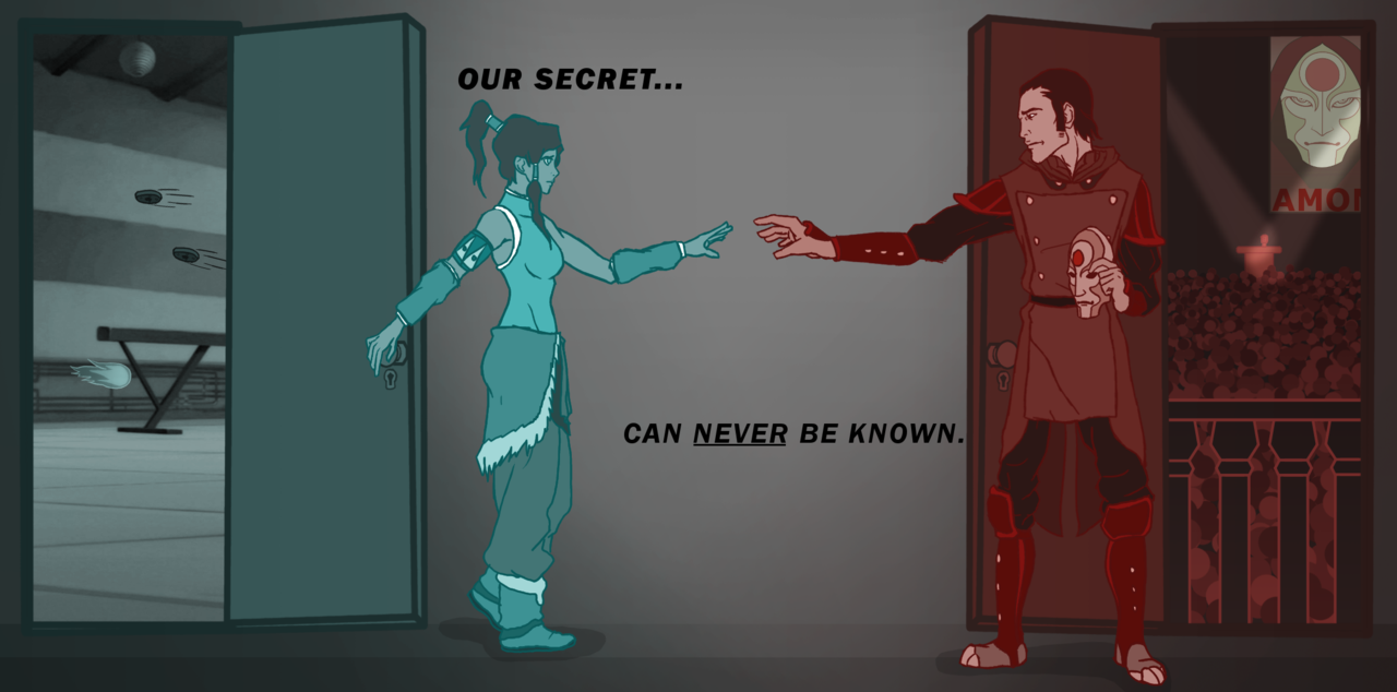 Our secret can't never be known