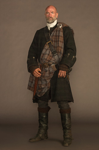 Outlander 2014 TV Series پیپر وال called Outlander - Cast تصویر