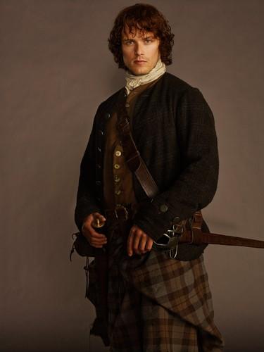 Outlander 2014 TV Series پیپر وال entitled Outlander - Cast تصویر