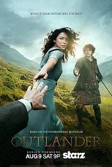 Outlander Official Starz Poster