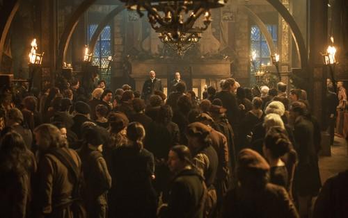 Outlander 2014 TV Series karatasi la kupamba ukuta possibly with a theater called Outlander - Season 1