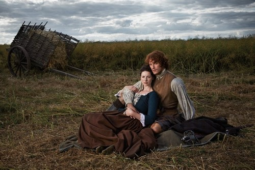 outlander serie de televisión 2014 fondo de pantalla probably containing a grainfield, a mulch, and a wickiup entitled Outlander - TV Guide