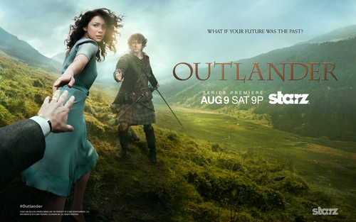 Outlander 2014 TV Series karatasi la kupamba ukuta called Outlander