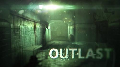Video Games achtergrond called Outlast achtergrond