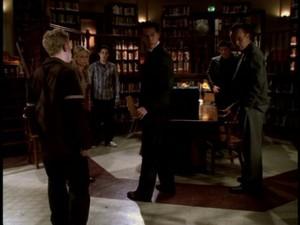 Oz Buffy Xander and Giles