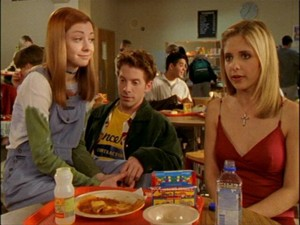 Oz Willow and Buffy