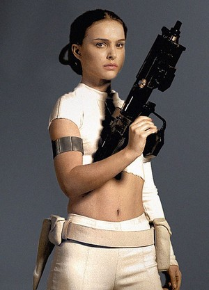 Padmé Amidala on geonosis