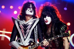 Paul Stanley and Tommy Thayer