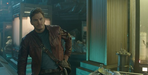 Guardians of the Galaxy 바탕화면 probably with a revolving door and a 거리 titled Peter Jason Quill