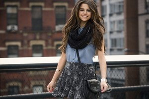 Pictures of Selena for her Adidas NEO Fall/Winter Collection