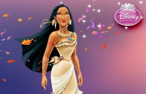 Pocahontas kertas dinding