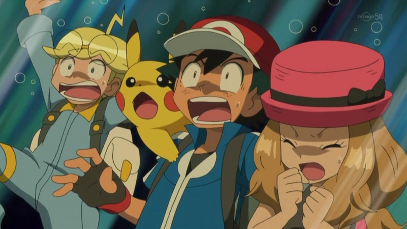 Ash and Serena Pokemon  XYPokemon Serena And Ash Fanfiction