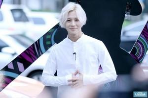 Prince Taemin with Silver Hair @ Gangnam