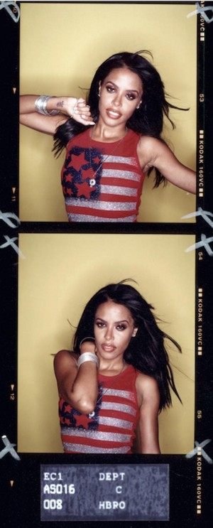 Queen Aaliyah photographed door Hamish Brown [13th anniversary] ♥