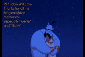 "RIP Robin aka "" Genie"" (& Batty)"