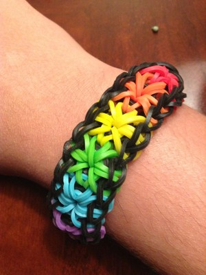 pelangi, rainbow bracelet