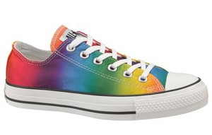 pelangi, rainbow sneakers