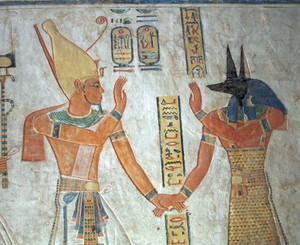 Ramesses and Anubis