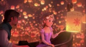 Rapunzel adores Mason!