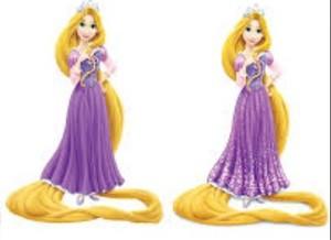 Rapunzel too.