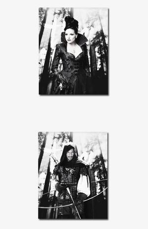 Regina and Robin Hood