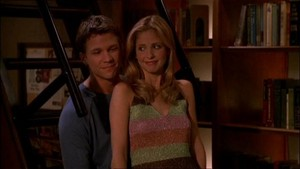 Riley and Buffy