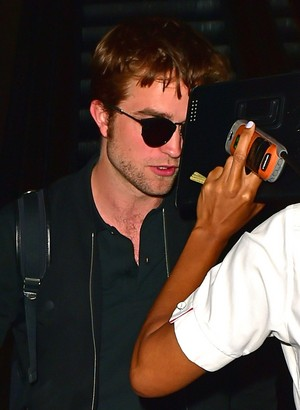 Robert arriving at LAX