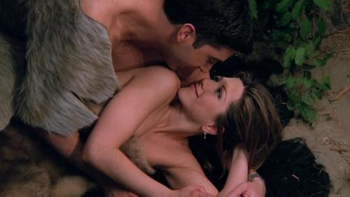 ویژن ٹیلی & Movie Couples پیپر وال with a فر, سمور کوٹ entitled Ross and Rachel