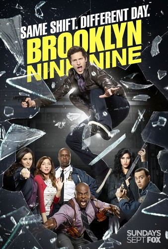 Brooklyn Nine-Nine 壁紙 with アニメ called Same Shift, Different Night