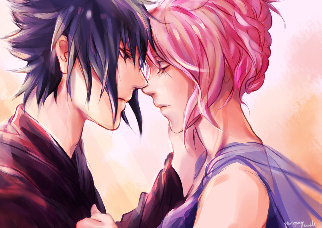 Sasusaku Images Sasuke Uchiha And Sakura Haruno Hd Wallpaper And