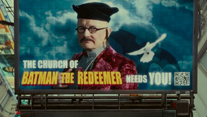 Robin Williams in the film 'The Zero Theorem'