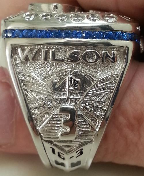 Seattle Seahawks Super Bowl Championship Player Replica Ring