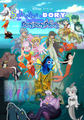 Disney•PIXAR's Sebastian and Dory meet Mermaid Melody Pichi Pichi Pitch - disney fan art