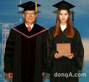 Seohyun Graduation from Dongguk University