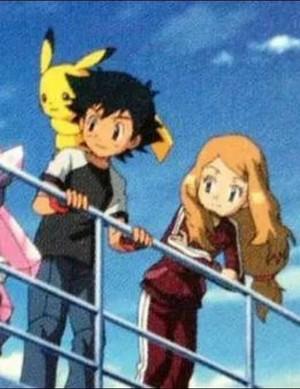 Serena and Ash