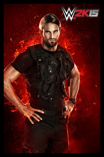 The Shield (WWE) wallpaper entitled Seth Rollins - WWE 2K15