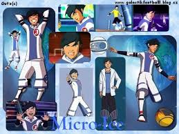 Galactik Football Обои probably containing Аниме entitled Snowkid - Micro Ice