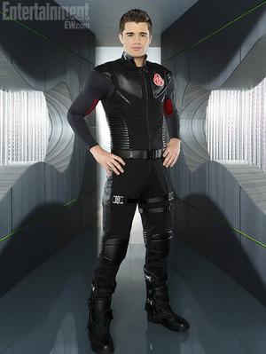 Spencer Boldman/ adam mission suit