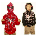Spider-man cosplay hoodie child version. - spider-man photo